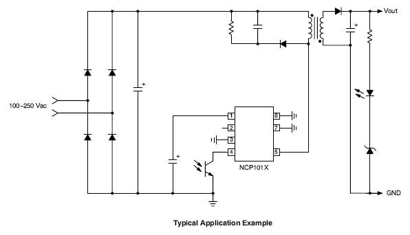 NCP1012: High Voltage Switching Regulator for Offline SMPS