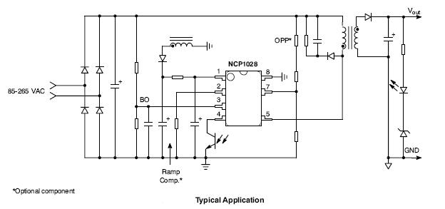 NCP1028: High Voltage Switching Regulator for Offline SMPS