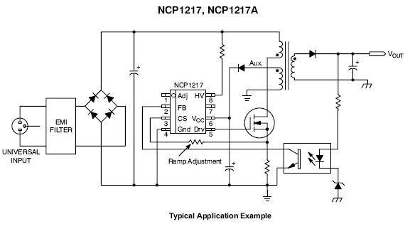 NCP1217: PWM Controller, Fixed Frequency, Current Mode