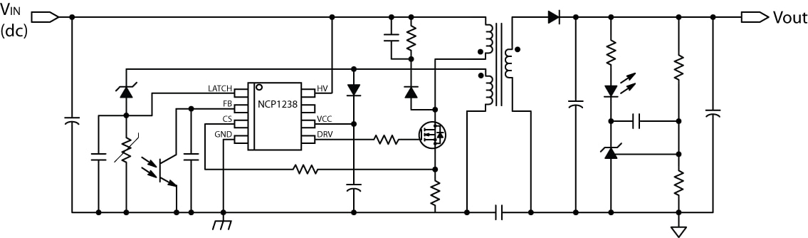 NCP1238: Controller, Fixed Frequency, Current Mode, for Flyback Converters