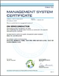 ISO/TS 16949:2009 Certificate for Mountain Top, Pennslyvania