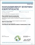 ISO/TS 16949:2009 Certificate for South Portland, Maine