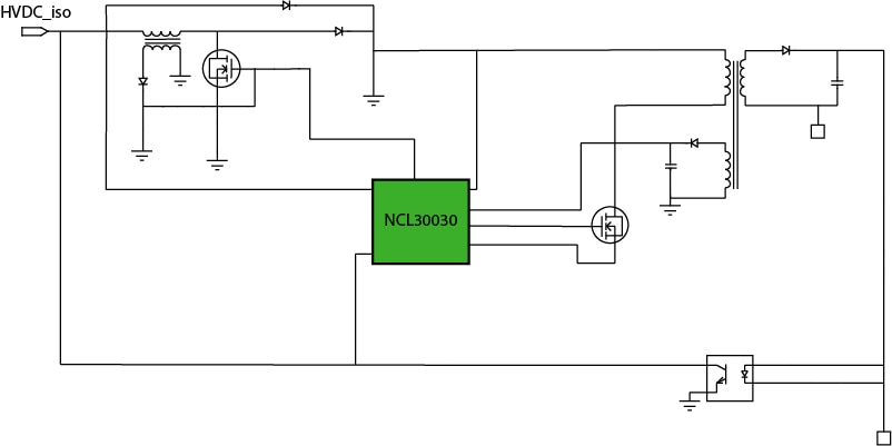 NCL30030 Block Diagram