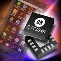 ON Semiconductor Introduces Highest Efficiency Charge Pump with Power Saving CABC Mode for Smartphone LED Backlighting